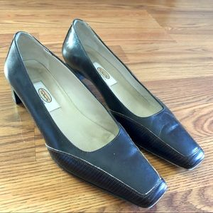 Talbots Italian Leather Business Heels